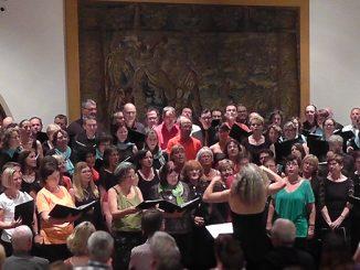 """Konzert des Thalia Chor Schweinfurt """"Frankreich zu Gast in Franken"""" 2017 mit den Franzosen"""