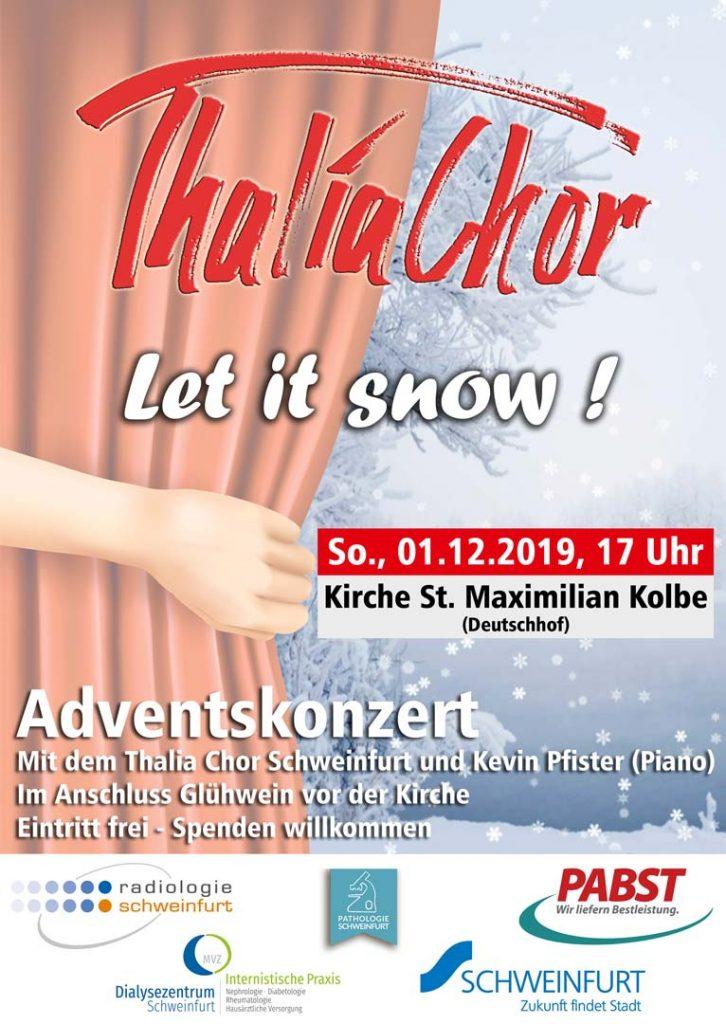 Konzert vom 1.12.2019: Let it snow!